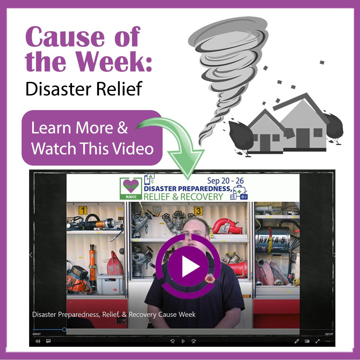 Disaster Relief Cause WEek